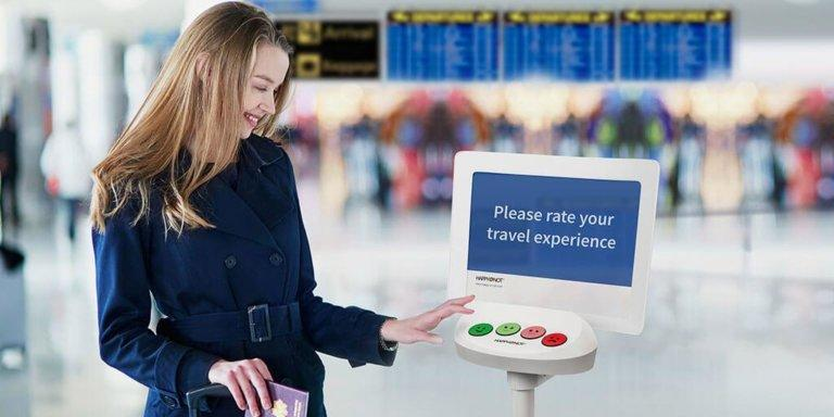 The Airport Report - Feedback data from iconic 'Smiley Terminals' reveals world's ten happiest airports and the best and worst times to fly
