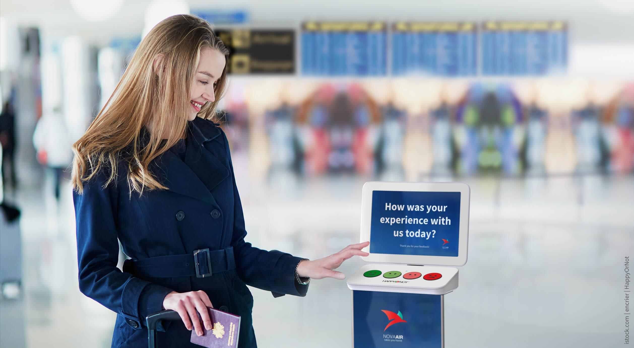 How a Smiley face will help improve the customer experience in a first for an Australian airport