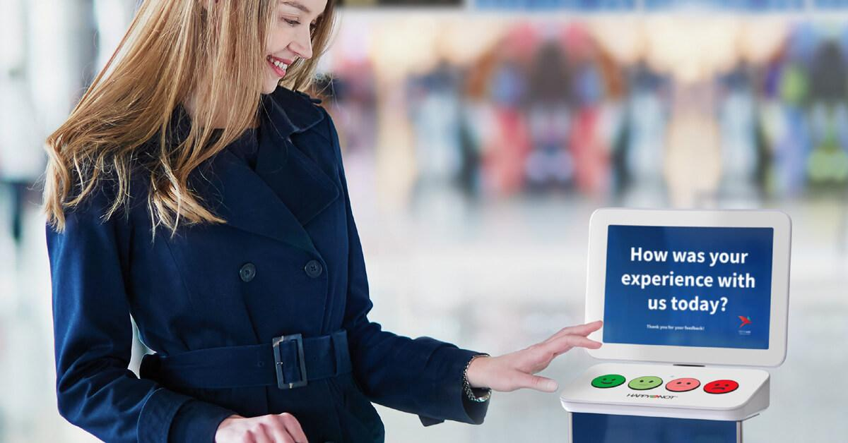 Paradies Lagardère Adds More Smileys to Airport Terminals, happyornot, happyornot in airports, airport satisfaction, passenger satisfaction traveler satisfaction