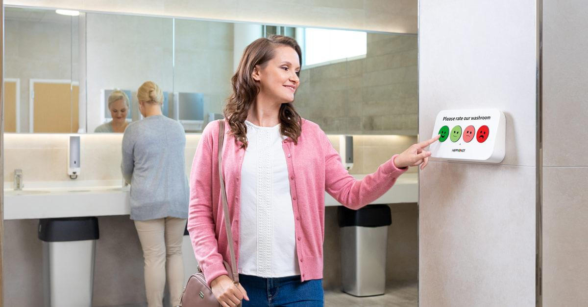 Smiley feedback company HappyOrNot releases newest product Smiley Wall