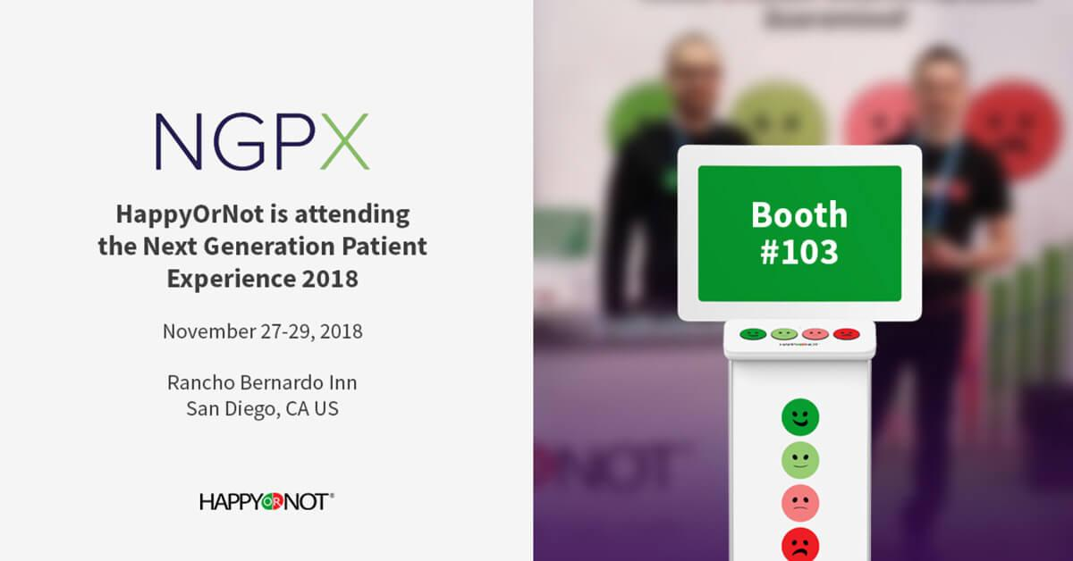 The Next Generation Patient Experience (NGPX) | 27-29.11.2018