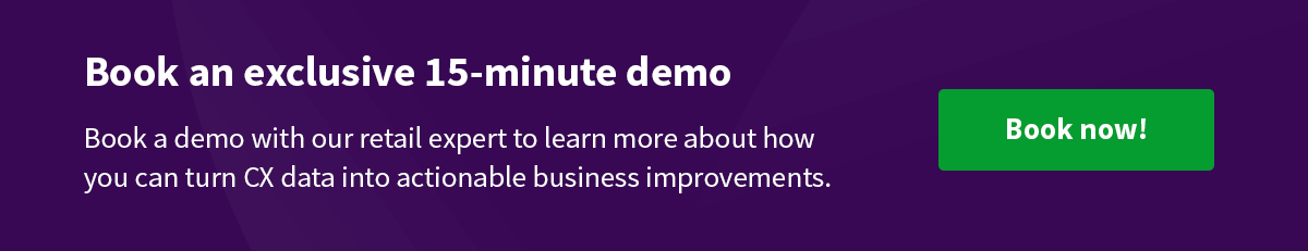 Book a demo with HappyOrNot expert