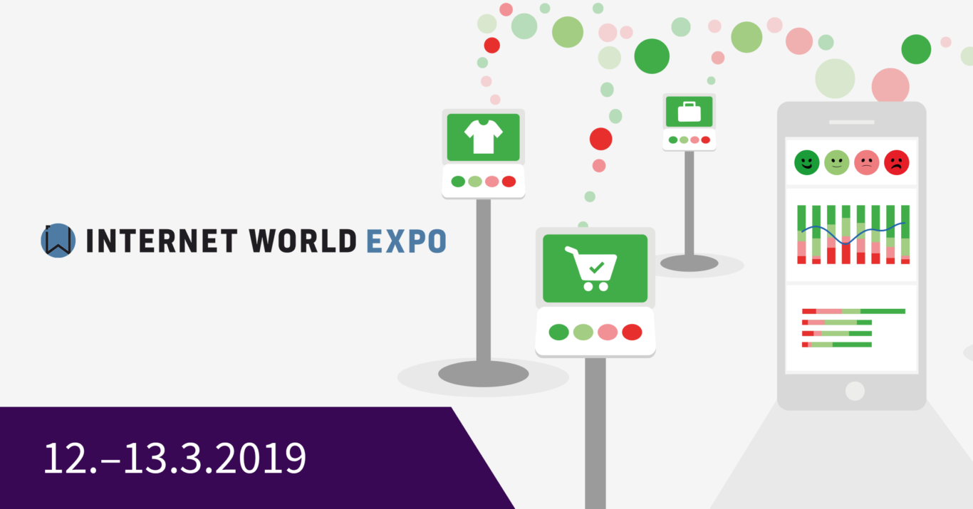 HappyOrNot at Internet World Expo 2019