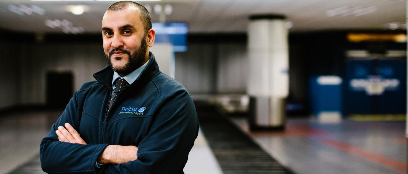 Header image of Nabeel Gill - Case: Belfast International Airport