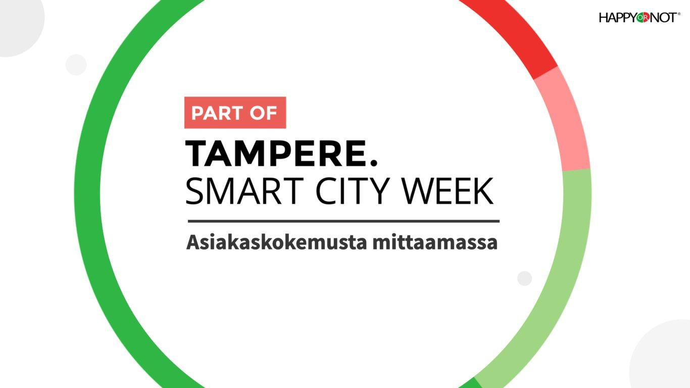 Tampere Smart City Week -banneri