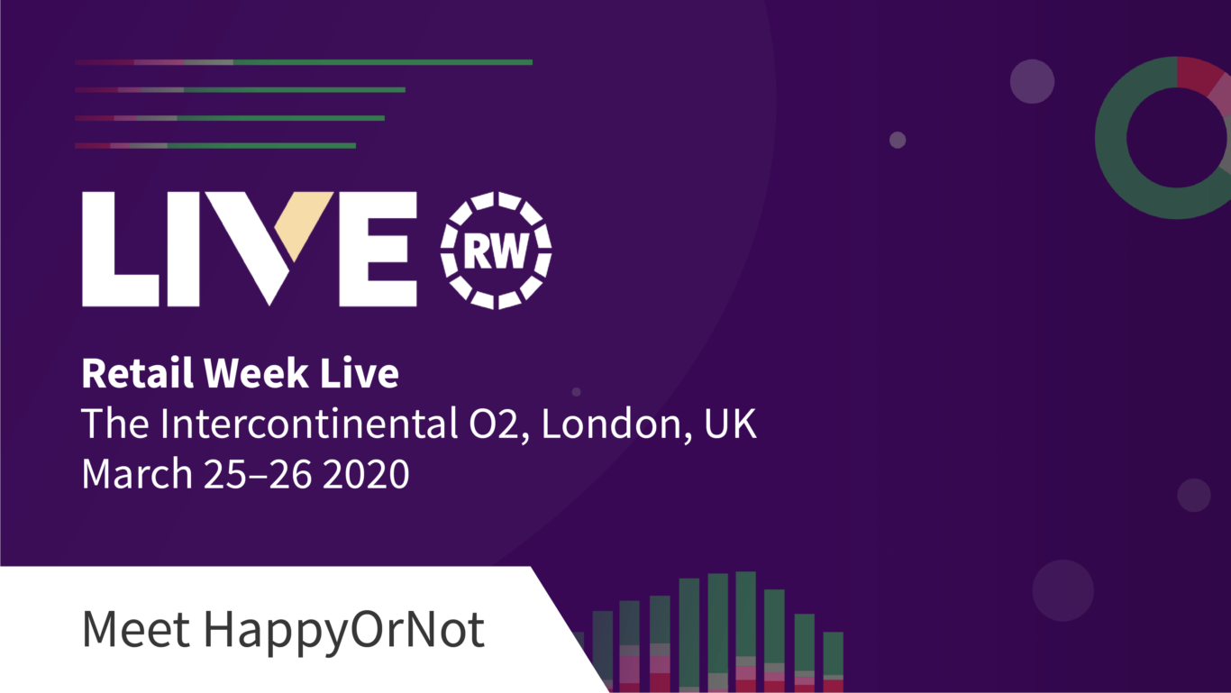 HappyOrNot at Retail Week Live