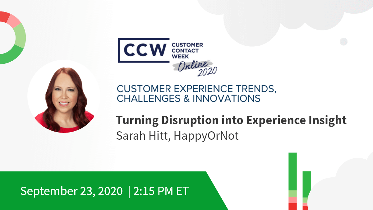 Customer experience trends banner with Sarah Hitt