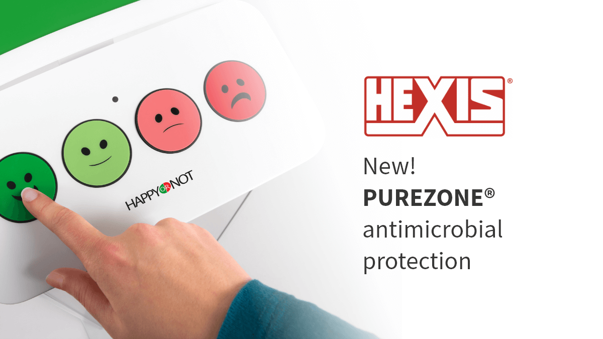 Hexis antimicrobial PR header image