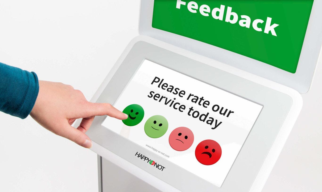 Smiley Touch button press general image
