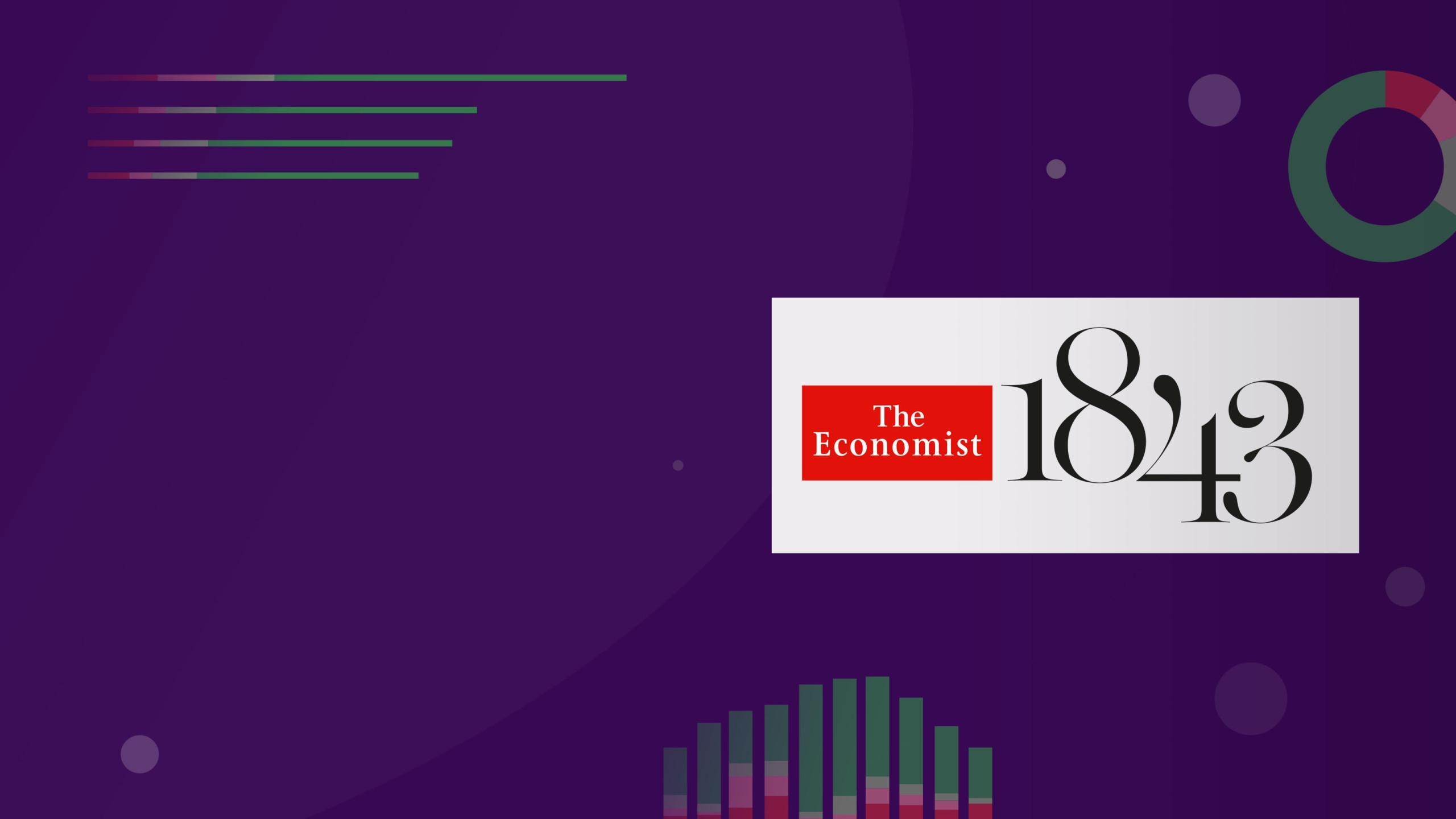 The Economist 1843 main page banner